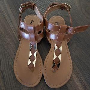 Brand new! Qupid sandals! Size 6.5